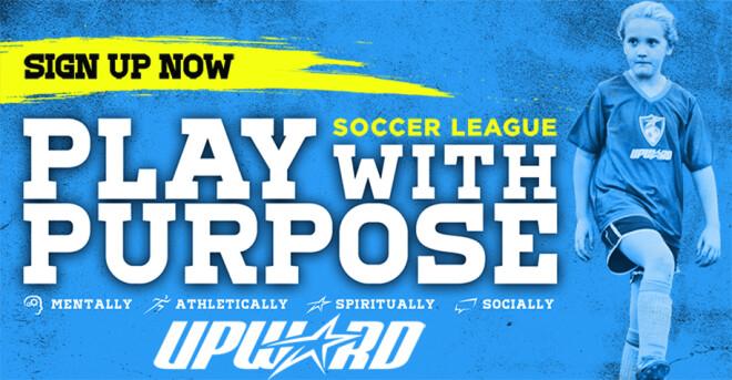 Upward Soccer Early Registration Ends