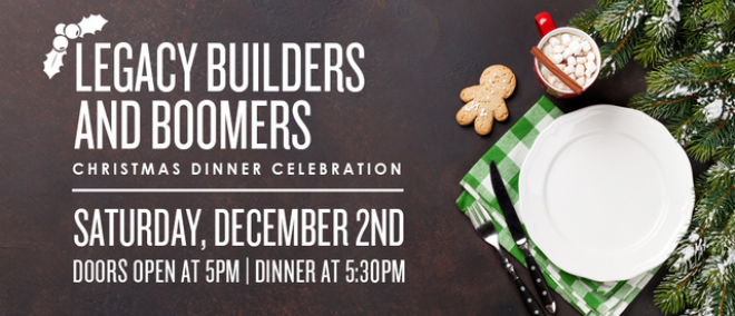 Legacy Builders and Boomers Christmas Party