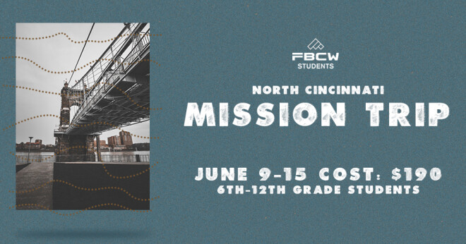 North Cincinnati Mission Trip 2019