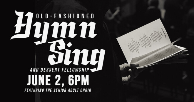 Old Fashioned Hymn Sing and Dessert Social