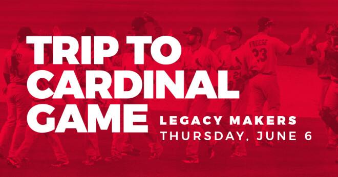 Legacy Makers Cardinals Baseball Game