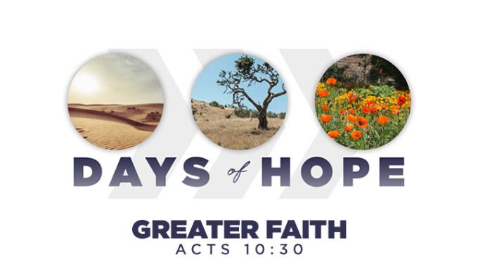 Greater Faith
