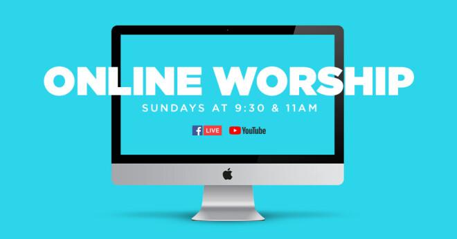 Online Worship 9:30 a.m.